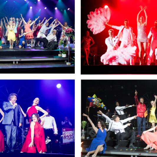 """Die """"Dance Company Friends"""" performt an der Schlagernacht Olten 2017"""